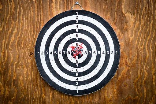 bull's eye - target - goals