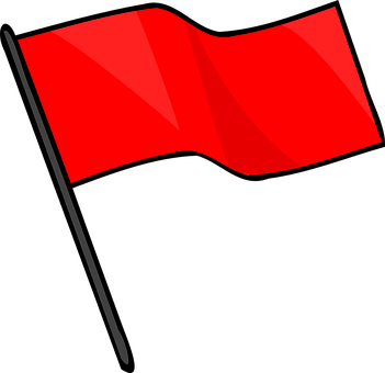 social media red flag warning