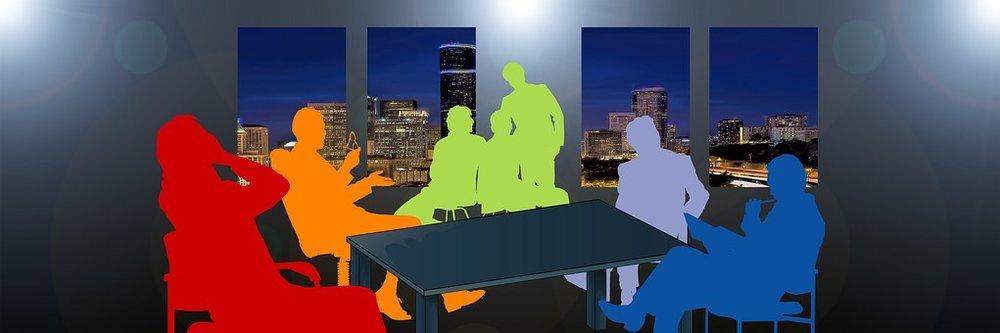 office meeting debate