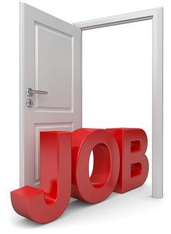 find job - get your foot in the door