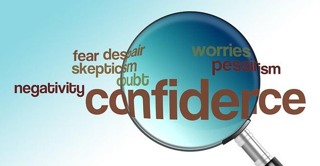 confidence versus negativity poster