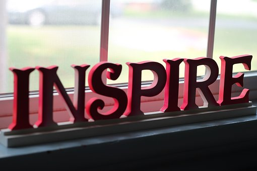 inspire - window signage