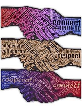 handshakes - words of respect
