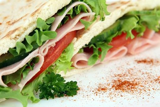 sandwich or snack