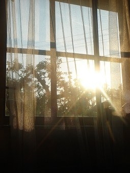 awake with the morning sun