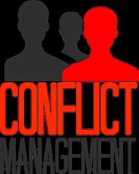 conflict management - 3 figures