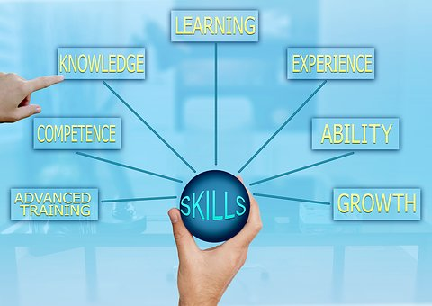 skills - competence - growth - experience - learning