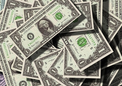 $1 bills
