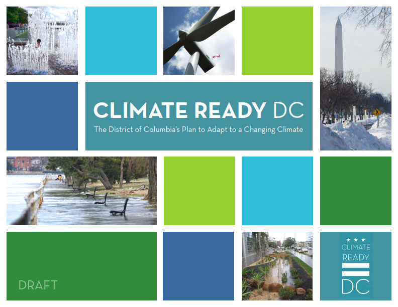 Climate ready dc report cover