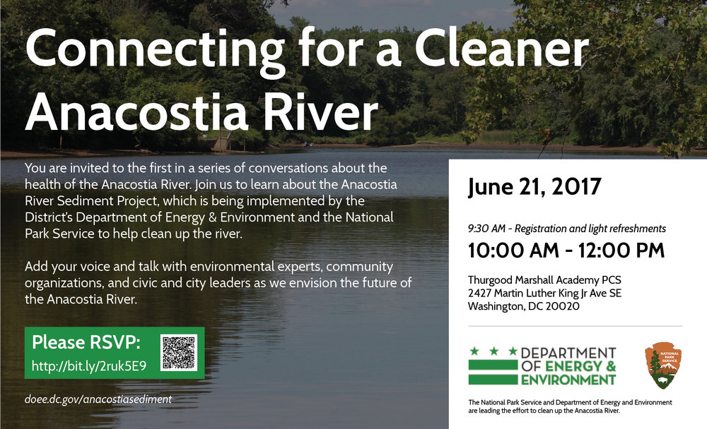 Announcement Anacostia River Sediment Project Stakeholder Meeting