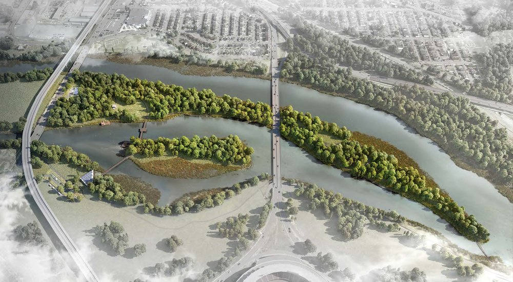 Image from the  plan for Kingman Island .