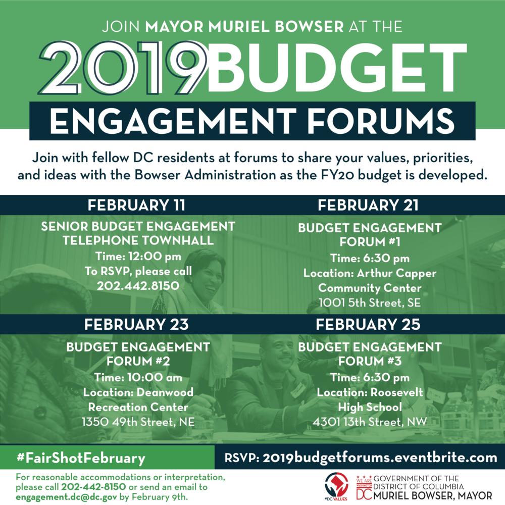 #dcfy20 public engagement session schedule