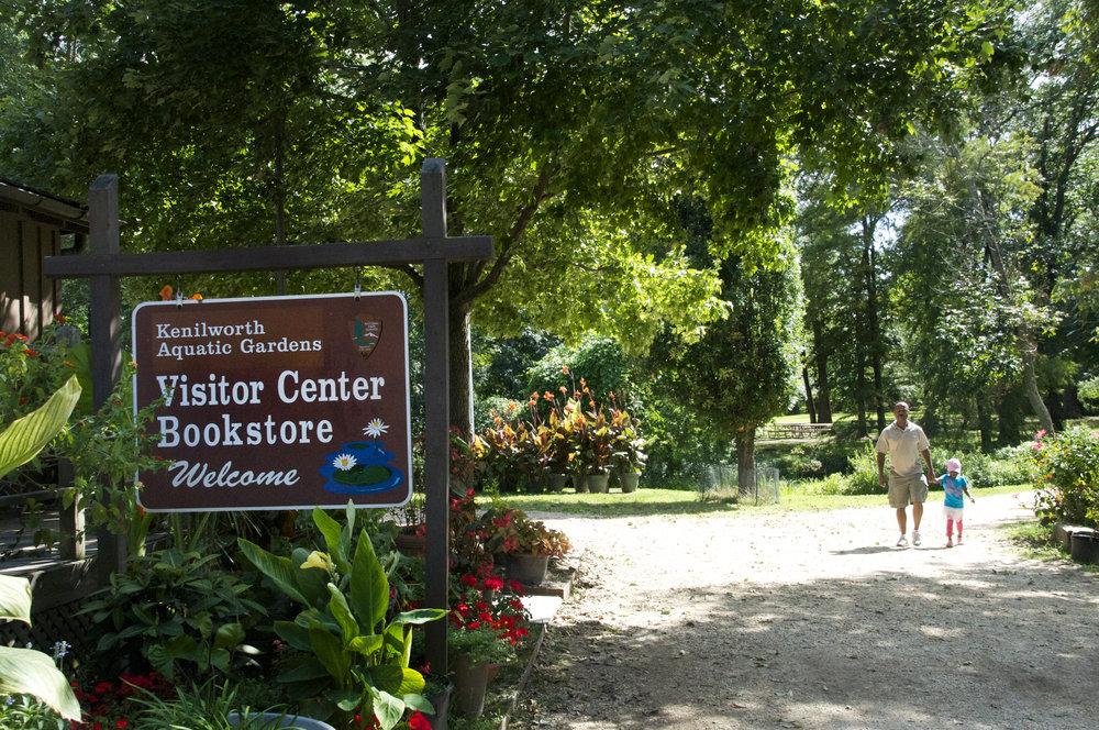 kenilworth aq gardens_visitor center w people .jpg