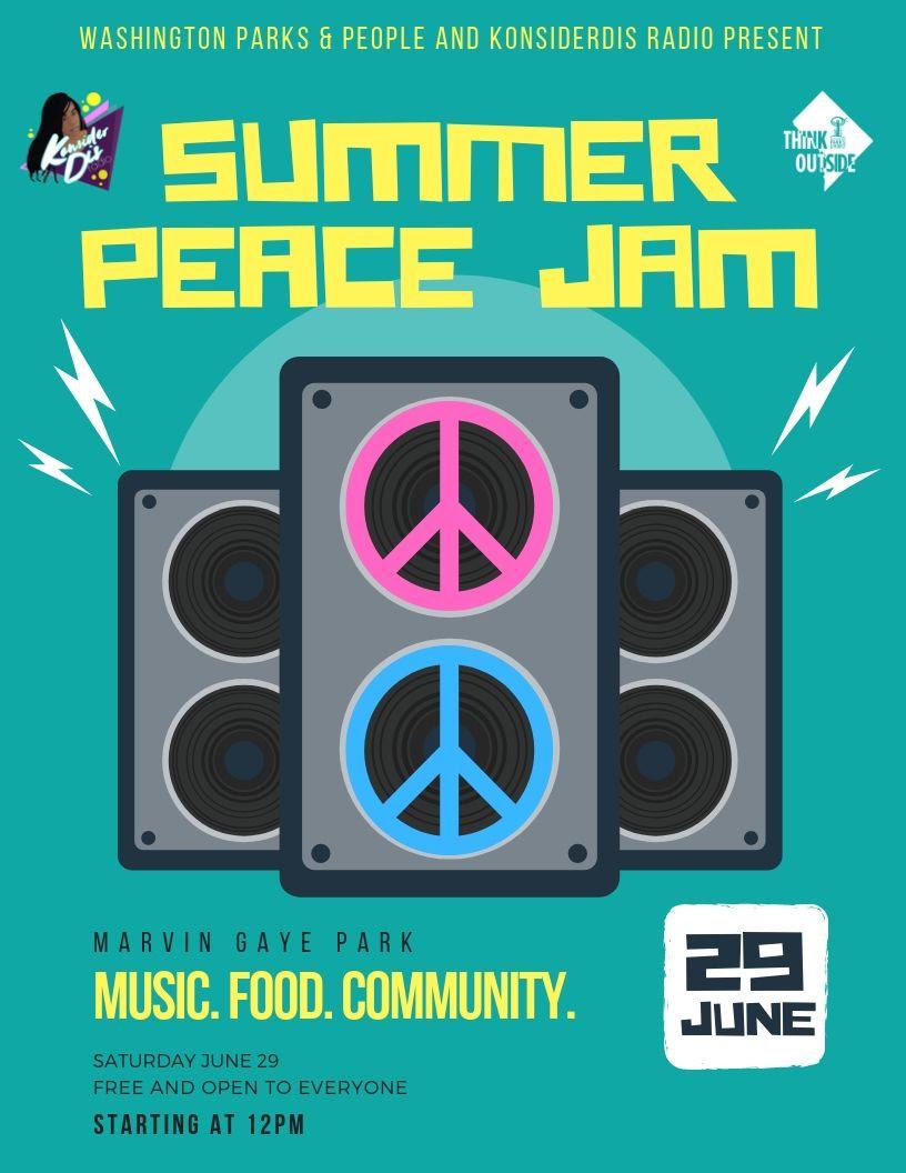 Summer Peace Jam! — Anacostia Park and Community Collaborative