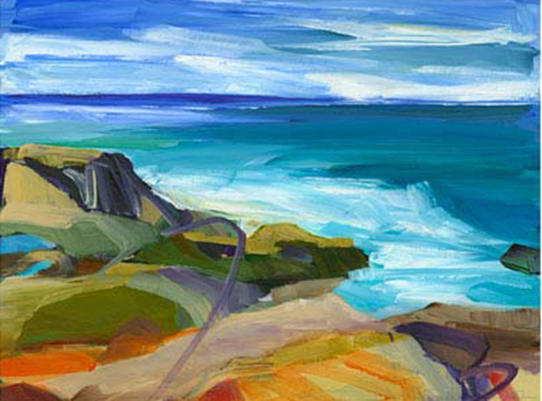 "Barbara Rainforth ""Summer Shores"""