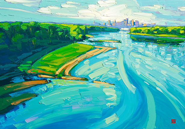 "Allan Chow ""Morning Missouri"" (Artist Embellished)"
