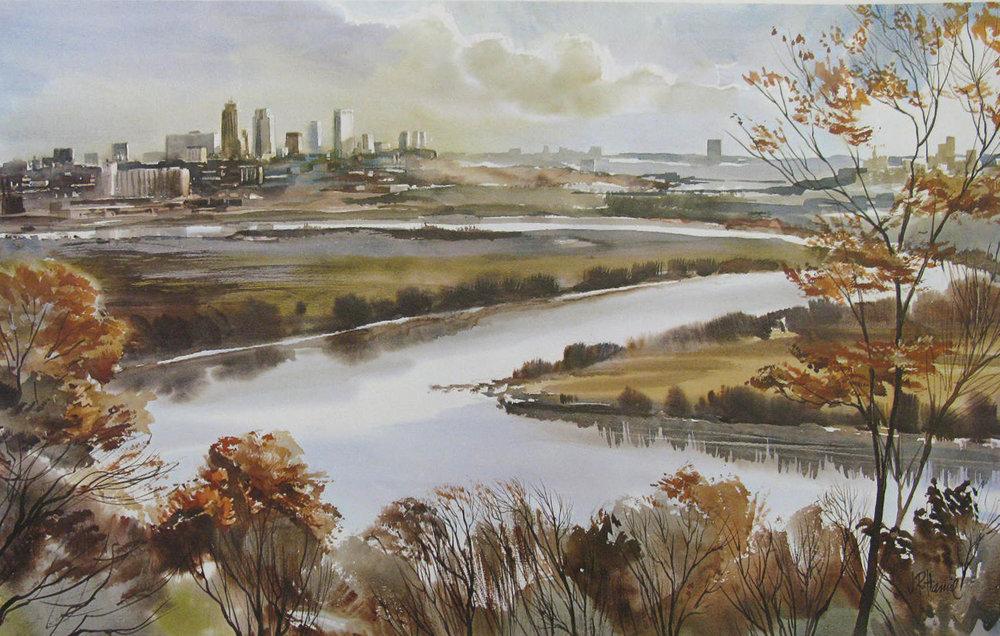 "Jim Hamil ""Kansas City and the River"""