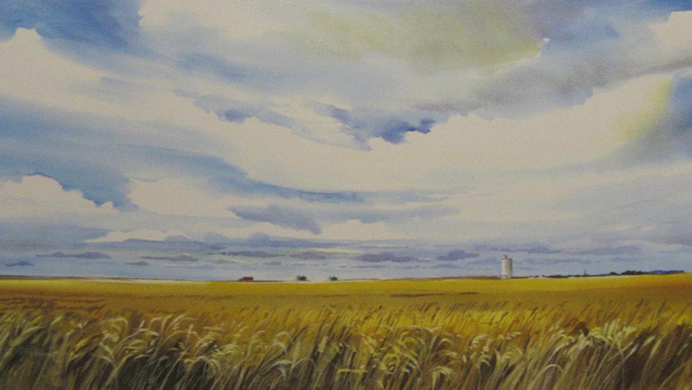 "Jim Hamil ""Wheated Harvest"""