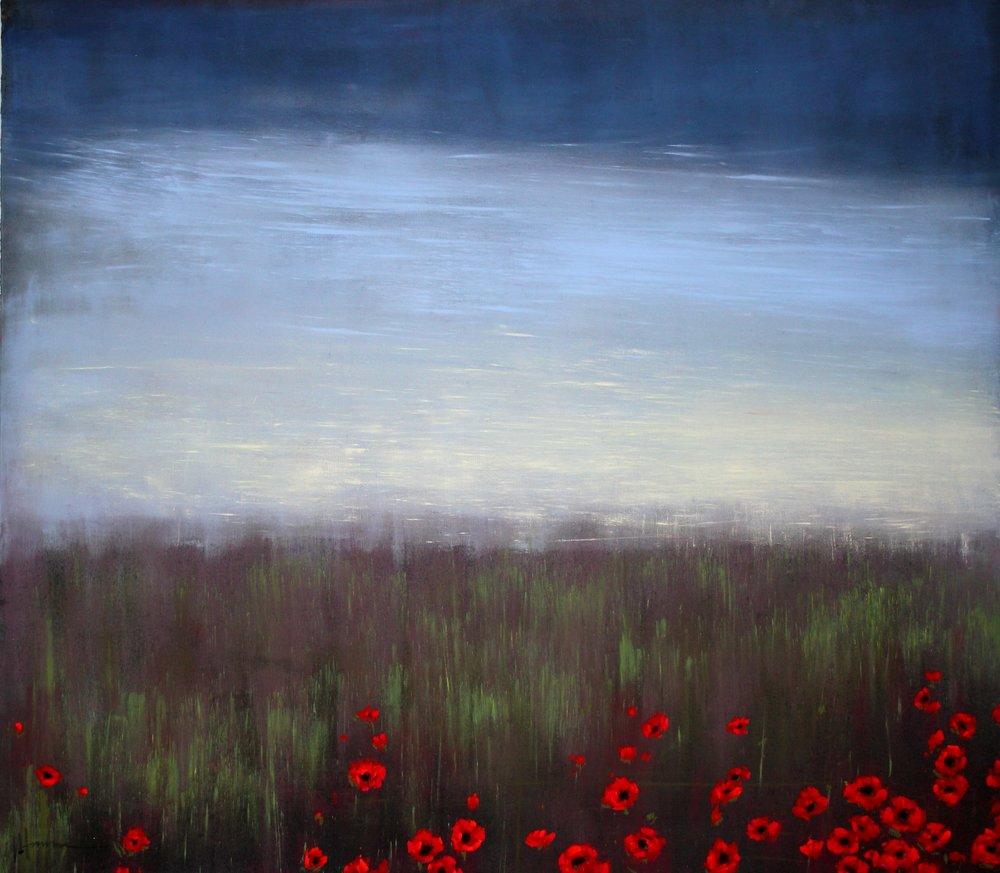 """Julie Hansen """"Beneath the Tall Grass"""""""