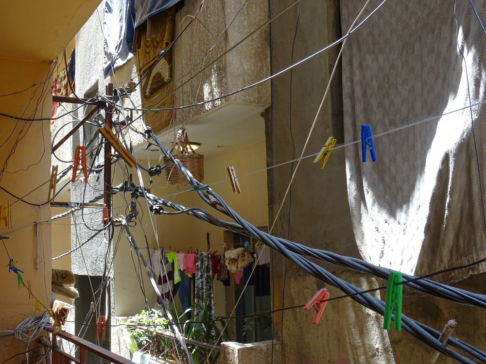 Making it work: Electricity cables and clothes lines (July 2015)