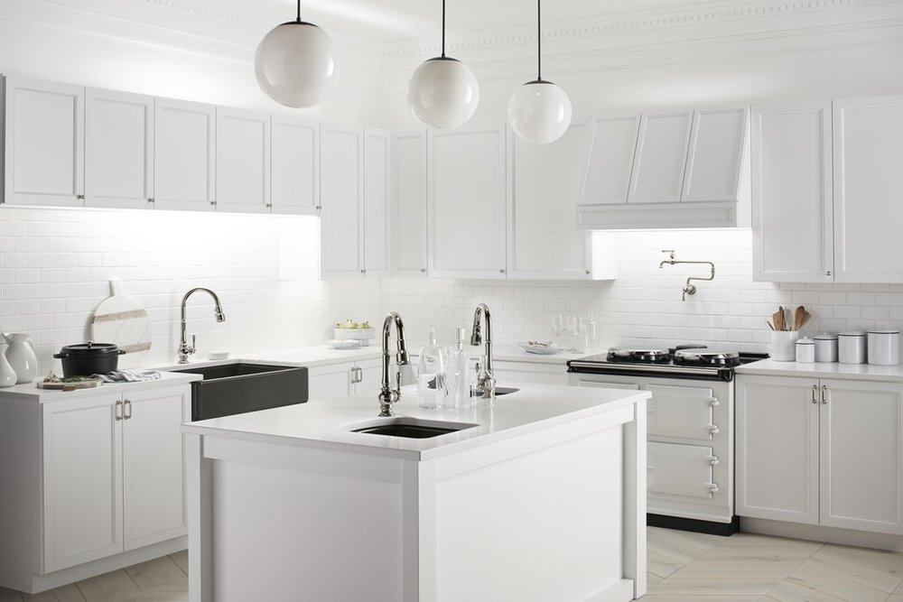 dream kitchen with kohler sinks
