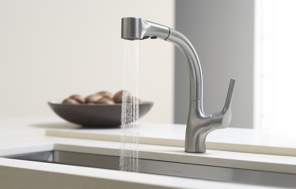 kitchen sink fixture from kohler