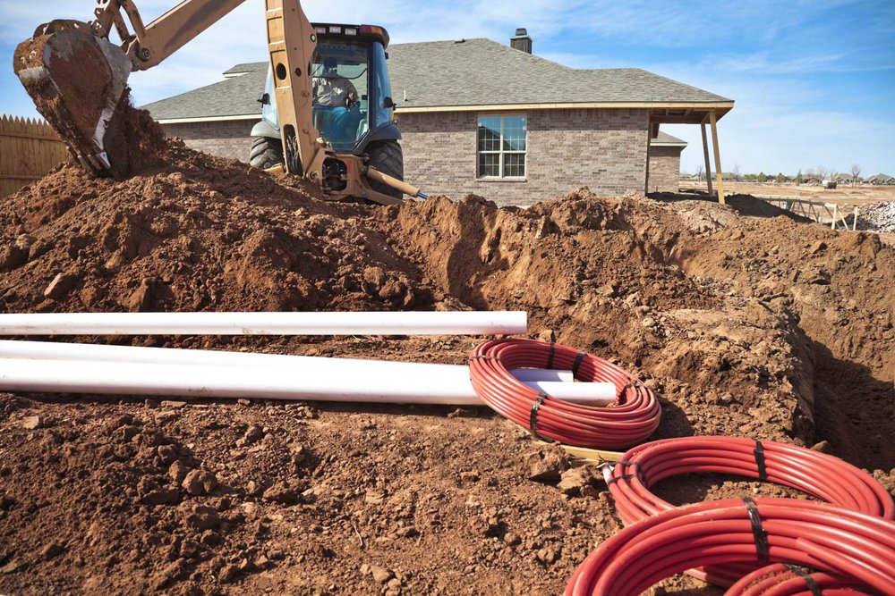 residential construction pipe