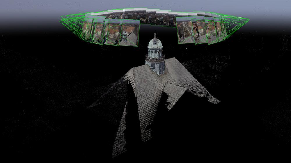 Photogrammetrie Model aus hochauflösenden Einzelbildern unserer Drohnen