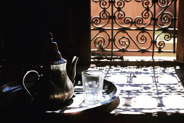Tea Time for #Marrakech