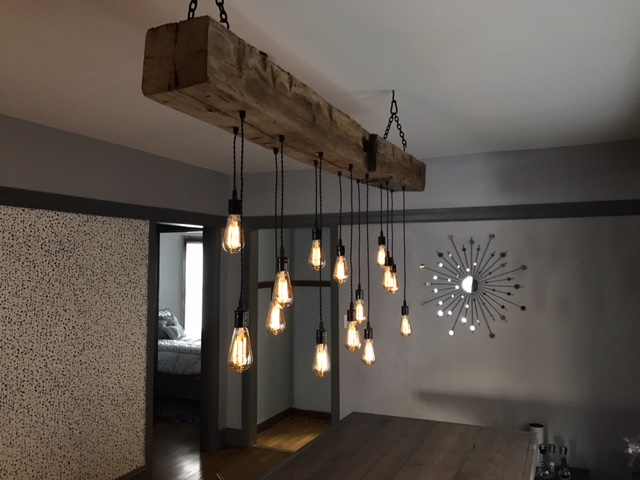 Wood Beam Light Fixtures