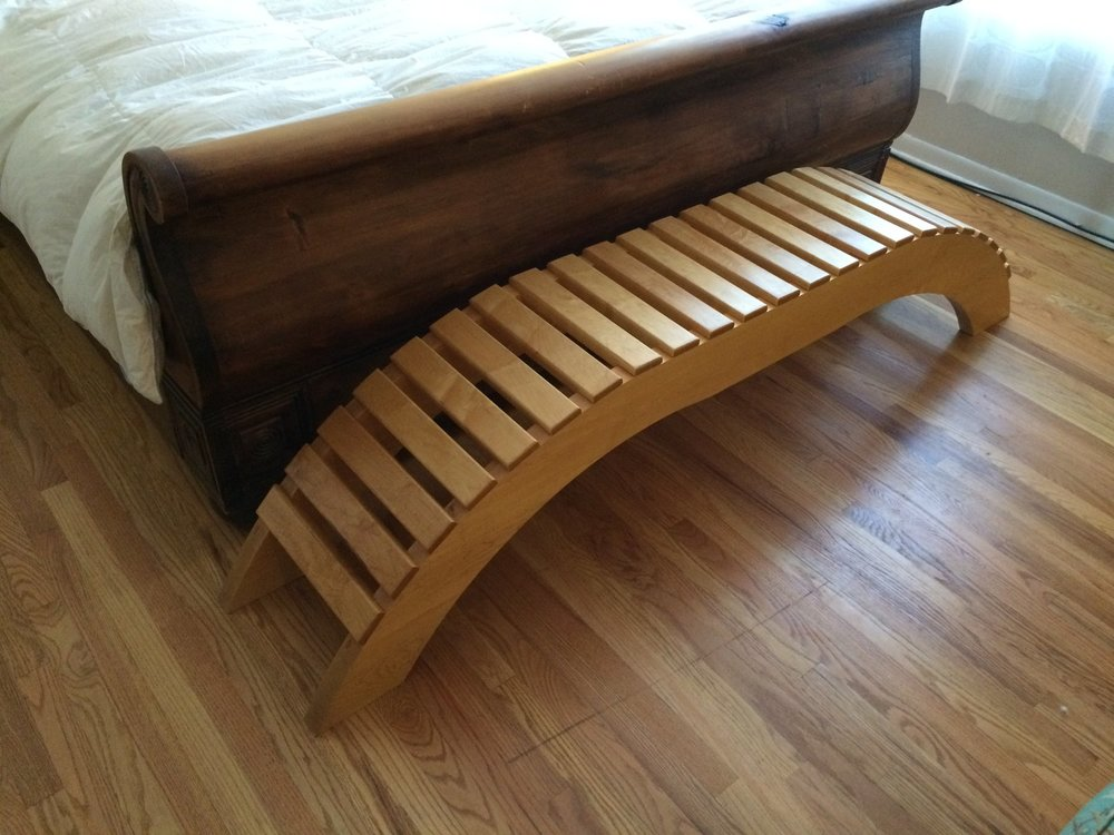 Maple Zen Bench