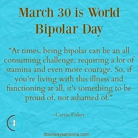 Happy #worldbipolarday ❤