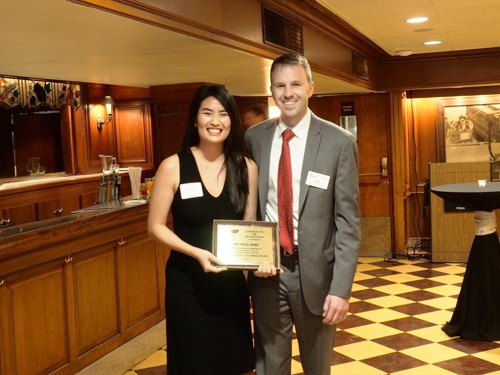 Outstanding Member Award -  Monica Shei