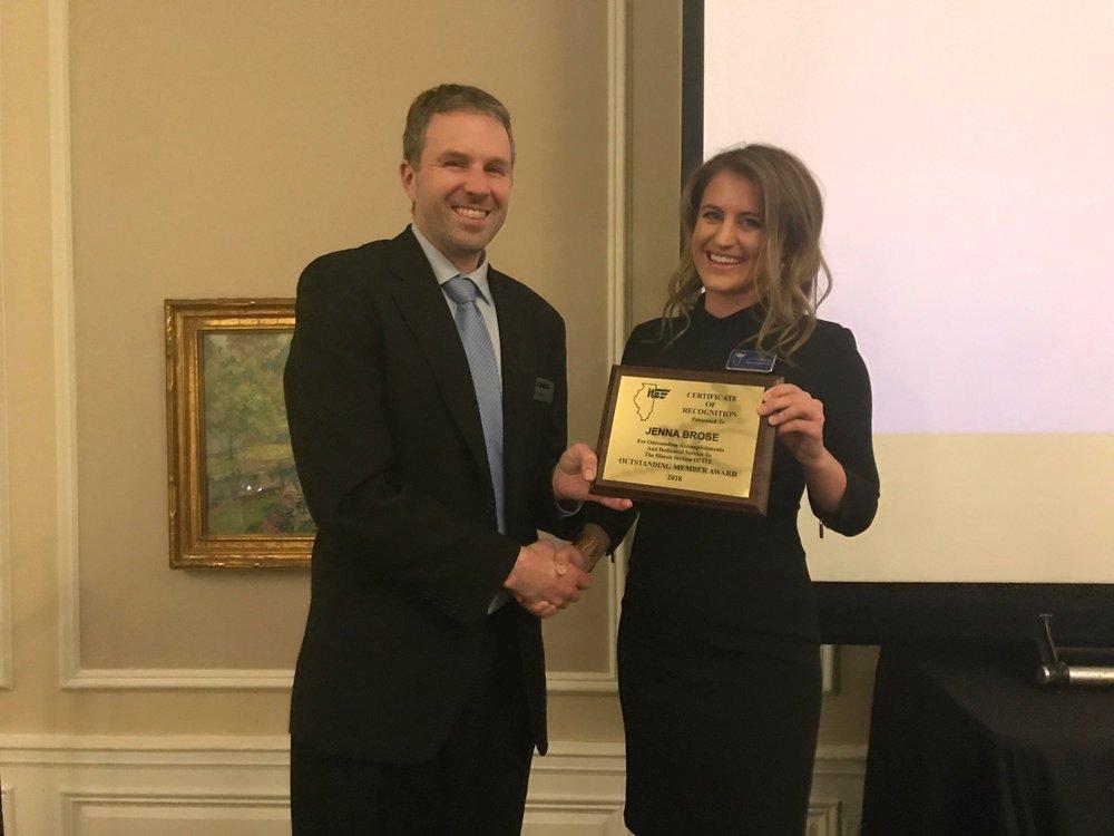 Outstanding Member Award -  Jenna Brose