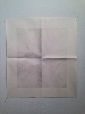 "Elena Volkova, Untitled, 2013, graphite on paper, 24"" x 30"""