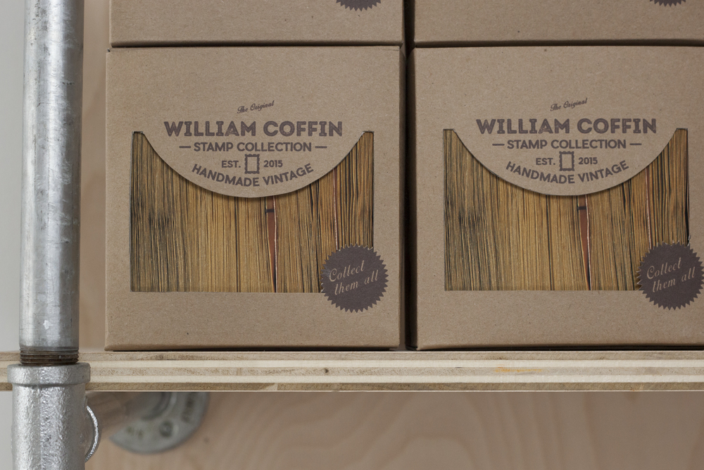 The Original William Coffin Stamp Collection