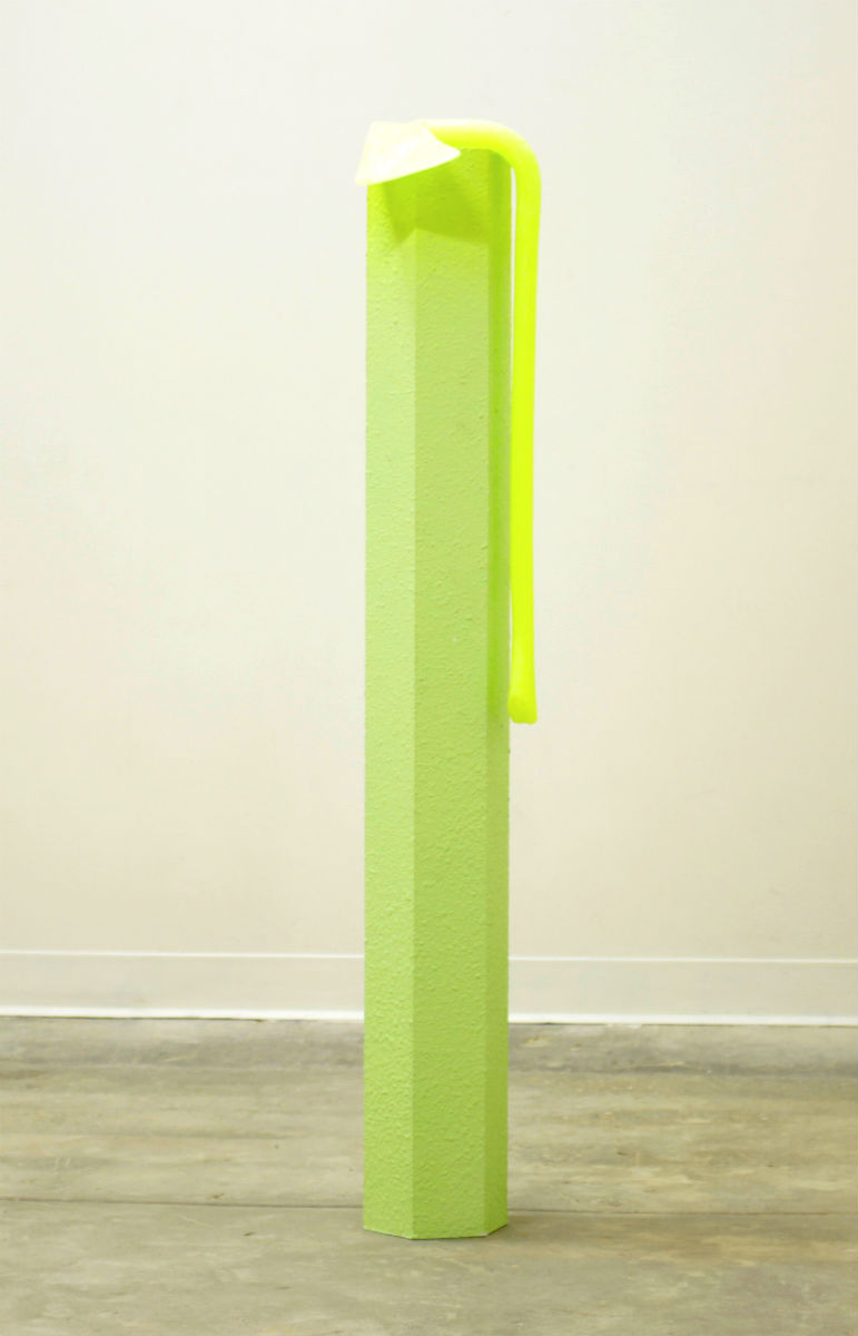 Untitled (Yellow Axe)