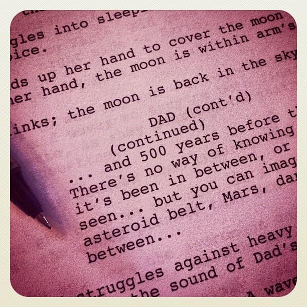SPAAACE written by Emma Coats