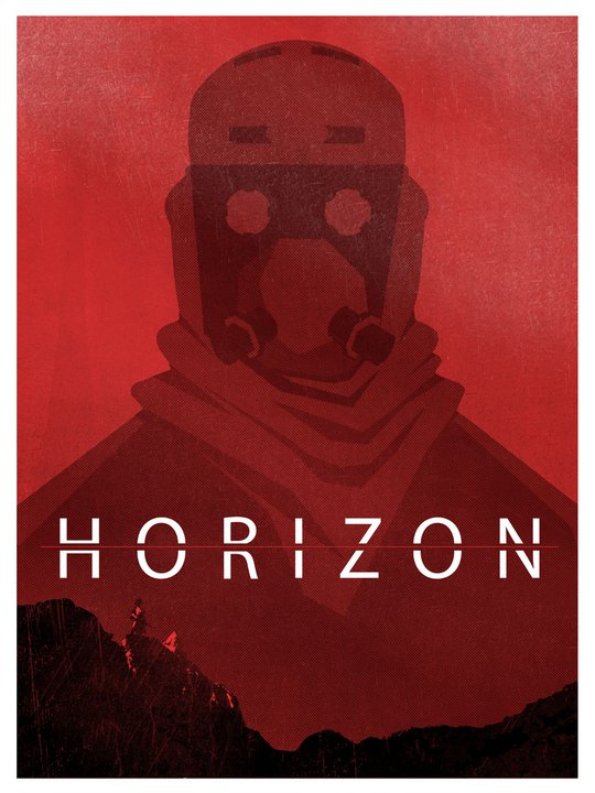 New take on a Horizon poster from the talented John Hoffman! Check out more of John's drawings at http://monkeyfeather.blogspot.com/!