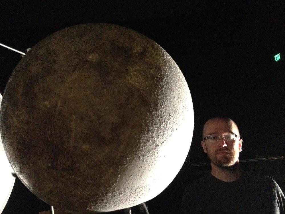 Moon lighting test