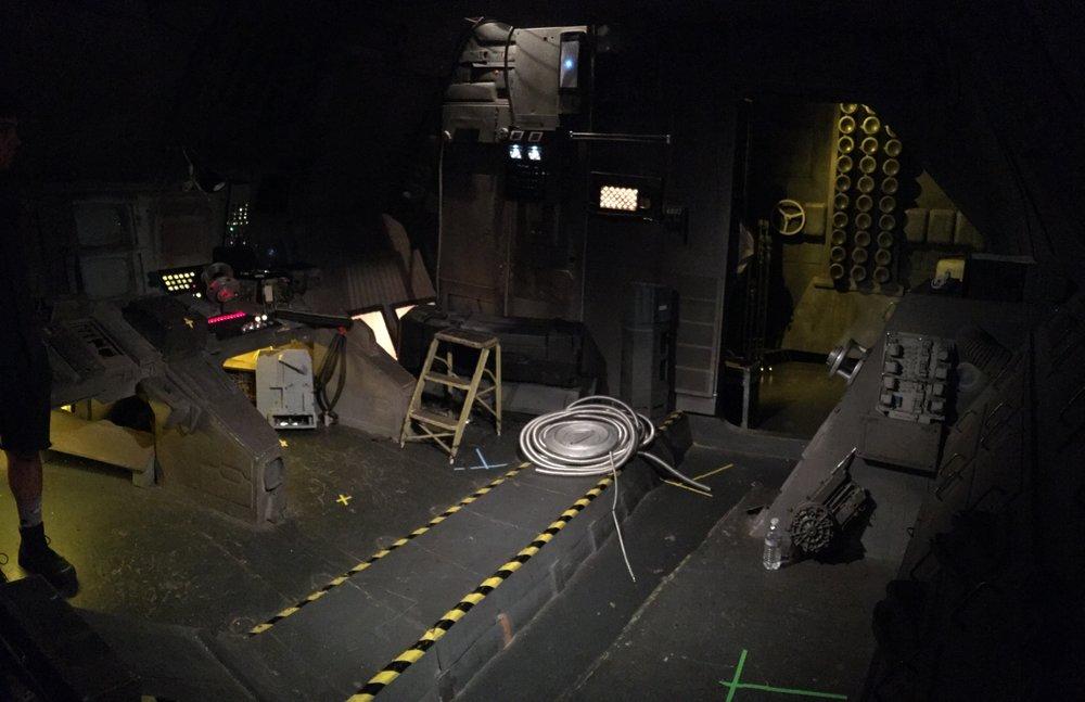 power supply room