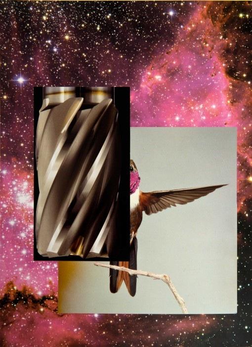 """Sechstagewerk_2016_5   Collage  12.7"""" x 9.3""""  2016"""