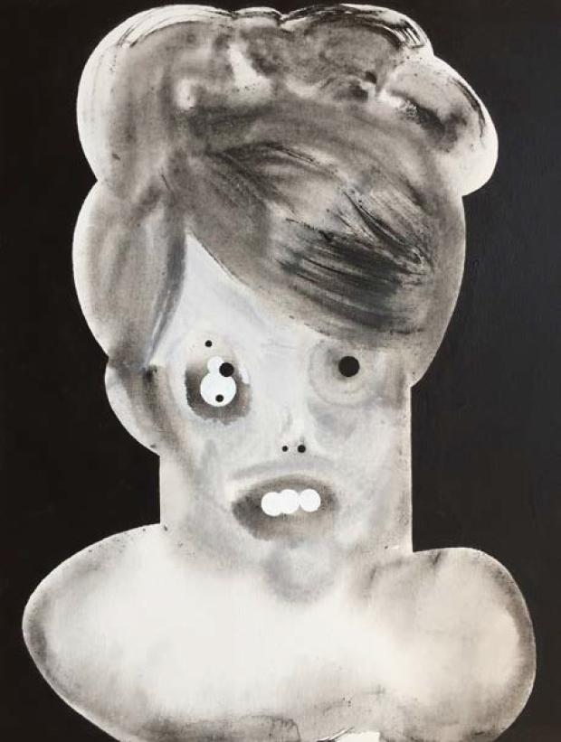 "Margret Vivian   Acrylic on Canvas panel  18"" x 24""  2017"