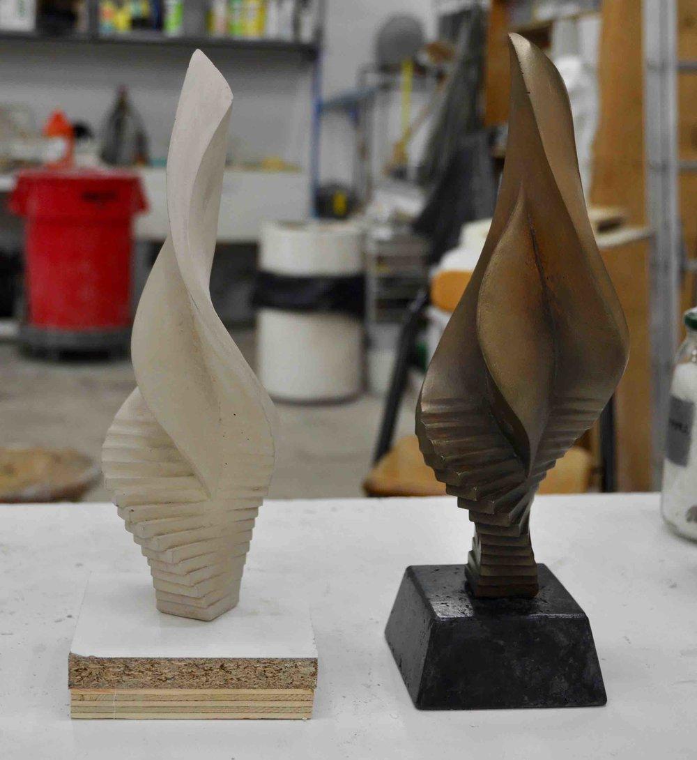 Metallic Bronze Effect using Winterstone