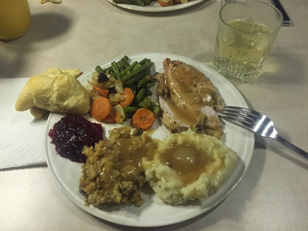 Thanksgiving Dinner: RV Style