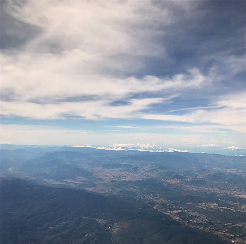 Taken a few minutes before arriving to Oaxaca City
