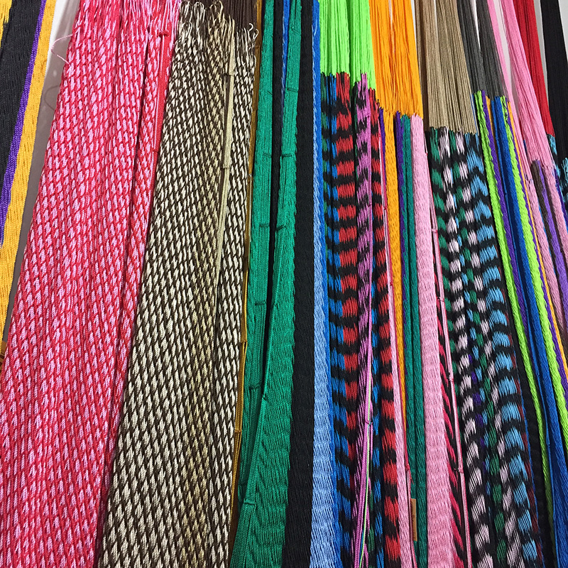 Hammocks displayed