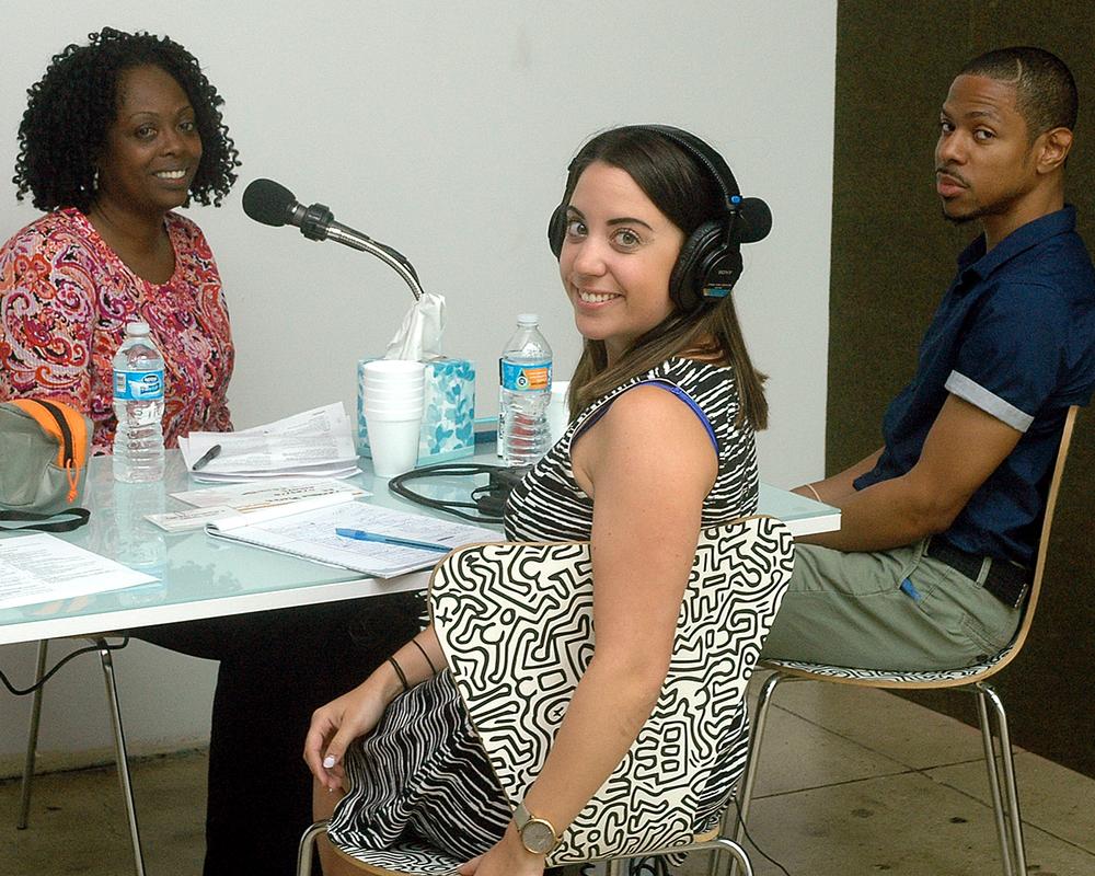Rosie Whiteside, Tamaqua Pierce and Raymond S.