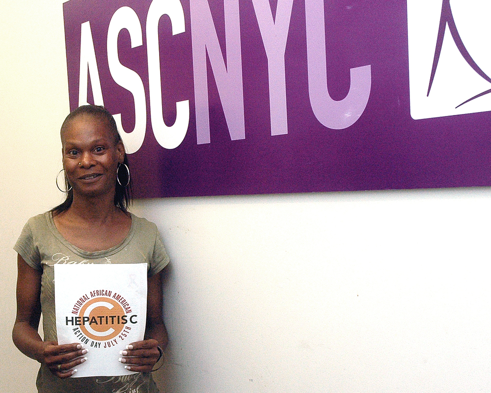 A member of the ASCNYC Family showing their support