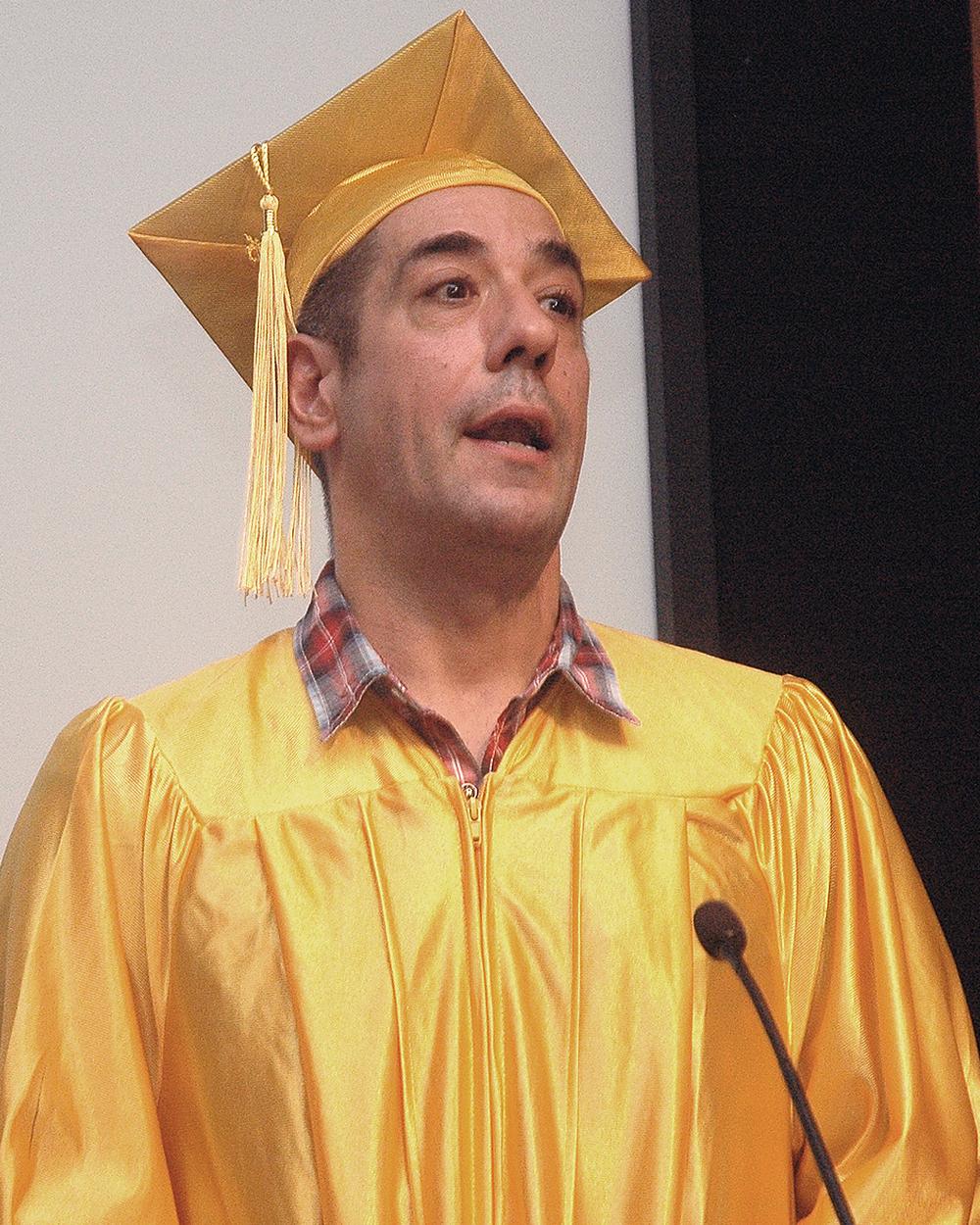Peer Graduate Testimonial: Anthony R.